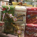 lot de 3 panettones aux couleurs du drapeau italien